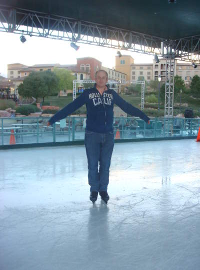 Ivan ice skating