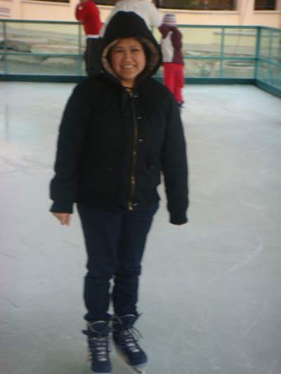 Jen's ice skating!