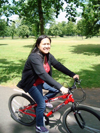 On the Bike Tour in London