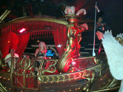 new float in the Masquerade Show in the Sky