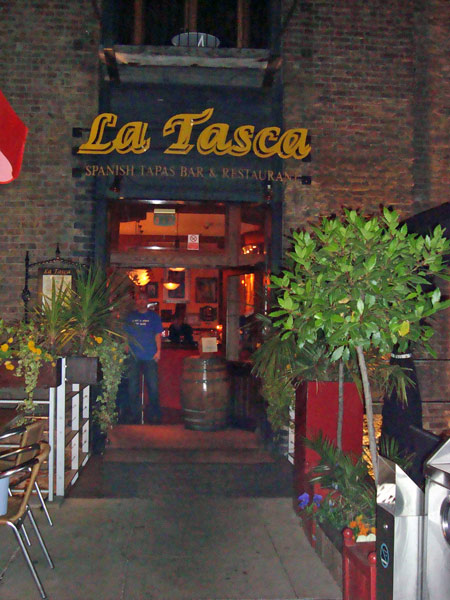 La Tasca in the Docklands