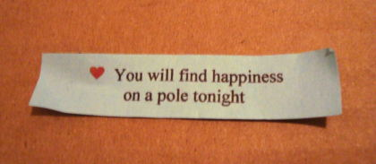 How did the fortune predict I would have fun at the class?