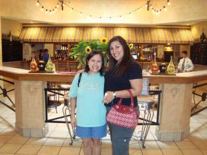 Me & Karen at Olive Garden